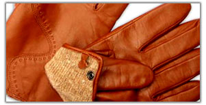 mens and ladies leather gloves