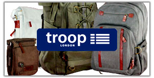 Troop London canvas bag